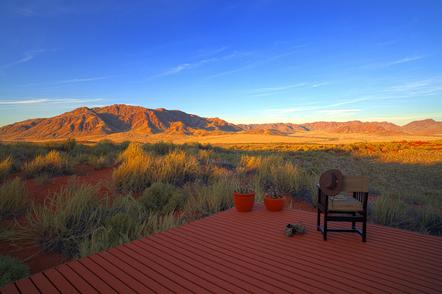 Namibia geführte Reise - Namibia Suedafrika Botswana Rundreise - Sundowner - Namib