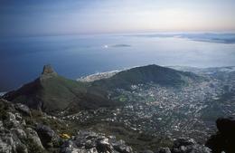 Aussicht vom Tafelberg - Kapstadt - Suedafrika