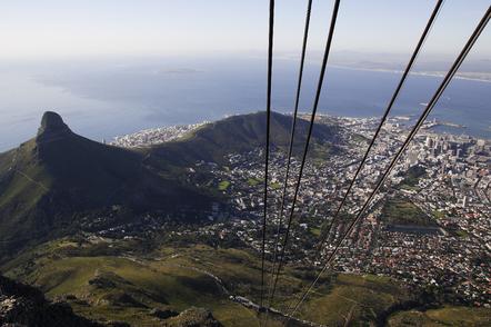 Suedafrika Gruppenreise - Suedafrika Erlebnisreise - Gondel zum Tafelberg - Kapstadt - Suedafrika