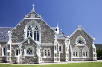 Suedafrika Gruppenreise - Alte Kirche - Graaff Reinet - Suedafrika