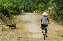Fahrradfahrer - Vietnam