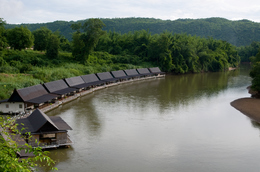 Kwai Fluss - Kanchanaburi - Thailand
