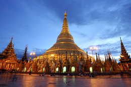 Myanmar Gruppenreise -Myanmar Erlebnisreise - Myanmar individuelle Rundreise -Myanmar Rundreise -Shwedagon Pagode - Yangon