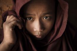 junger Moench - Siem Reap - kambodscha