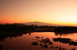 Sonnenaufgang - Mount Kenia Nationalpark - Kenia