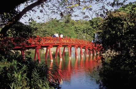 Vietnam Aktivreise -Vietnam Rundreise -Vietnam Gruppenreise -Haan Kiem See - Hanoi