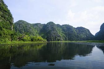 Vietnam große Rundreise -Vietnam Rundreise -Flusslandschaft - Ninh Binh