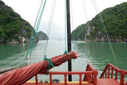 Boot - Halongbucht - Vietnam