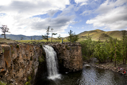 Orkhon Wasserfall - Orkhan Tal - Mongolei