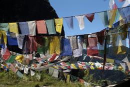 Bhutan Rundreise -Gebetsfahnen - Tigers Nest - Bhutan