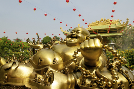 Individualreise Thailand - Aktivreise Vietnam Kambodscha -Vietnam Reise -Vietnam Rundreise - Goldener Budda - Saigon