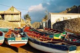 Fischerboote Ponta do Sol- Santo Antao - Kapverden - Urlaub