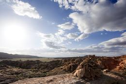 Landschaft - Wueste Gobi - Mongolei
