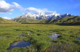Landschaft - Berge - Kirgistan